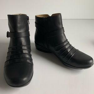 Naturalizer NEW black Cycle ankle boots 8.5